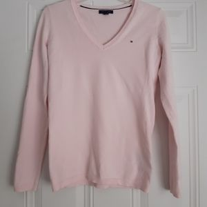 Tommy Hilfiguer Pink Sweter